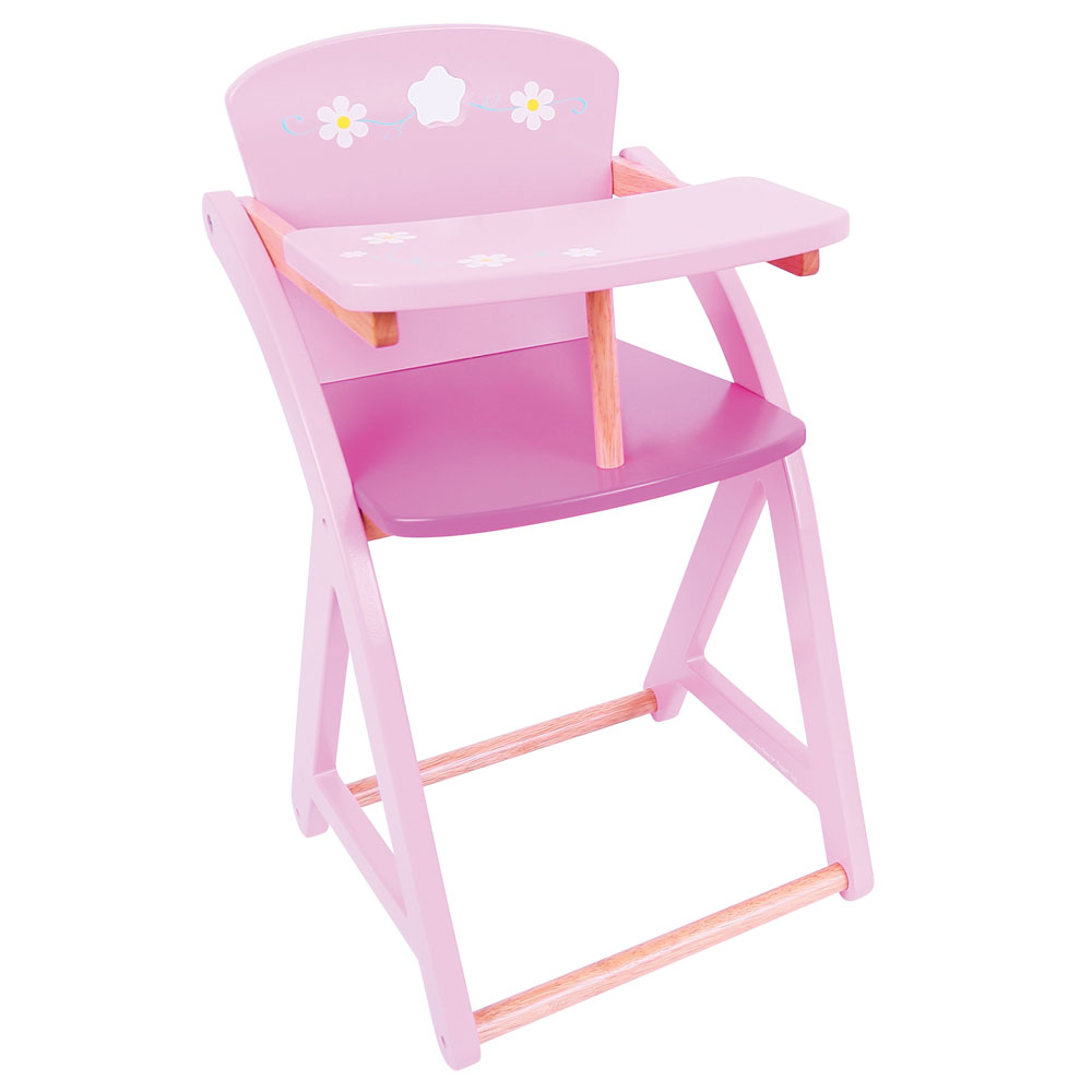 Bigjigs toys daisy doll high chair ebay for Chaise haute toys r us